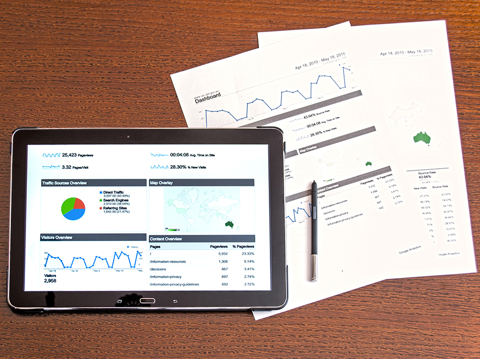 Website design - analysis and reporting